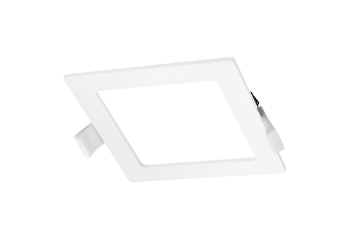 LED Downlight square 12 Watt 4000K 830lm Ø155 mm