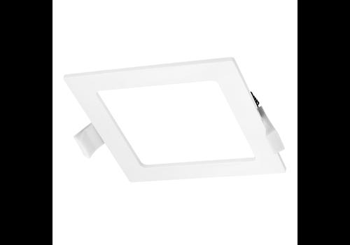 LED-Einbauleuchte viereckig 12 Watt 4000K 830lm Ø155 mm
