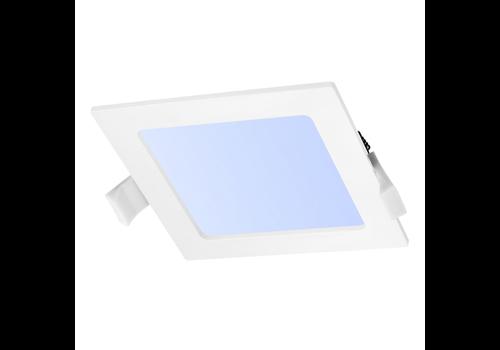 Aigostar LED-Einbauleuchte viereckig 18 Watt 6000K 1450lm Ø205 mm