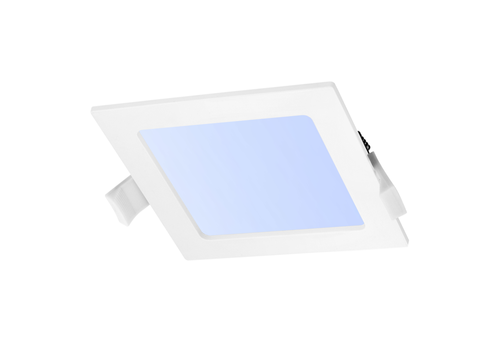 LED Downlight square 6 Watt 6000K 440lm Ø105 mm