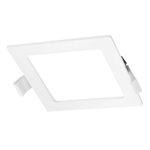 LED-Einbauleuchte viereckig 6 Watt 4000K 440lm Ø105 mm