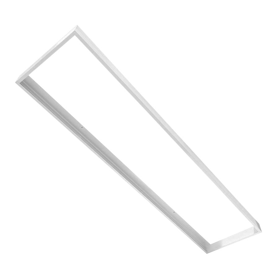 Opbouwframe voor LED panelen 30 x 60 cm kleur wit