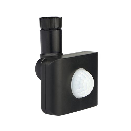 HOFTRONIC™ Draadloze PIR bewegingssensor Zwart IP44 Geschikt voor HOFTRONIC LED Breedstralers