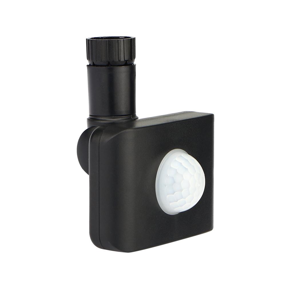 Draadloze PIR bewegingssensor Zwart IP44 Geschikt voor HOFTRONIC LED Breedstralers