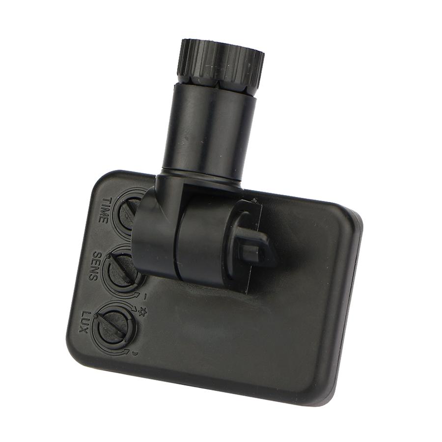 Wireless PIR motion sensor black IP44 Suitable for HOFTRONIC LED Floodlights