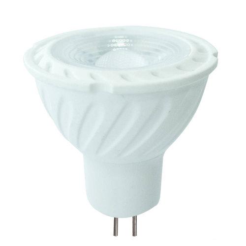 MR16 LED Spot 6,5 Watt 12V DC 450lm warmweiß 3000K (ersetzt 55W) 5 Jahre Garantie
