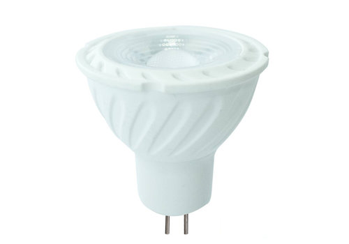 V-TAC MR16 LED spot 6.5 Watt 12V DC 450lm daylight white 6400K (replaces 55W) 5 year warranty