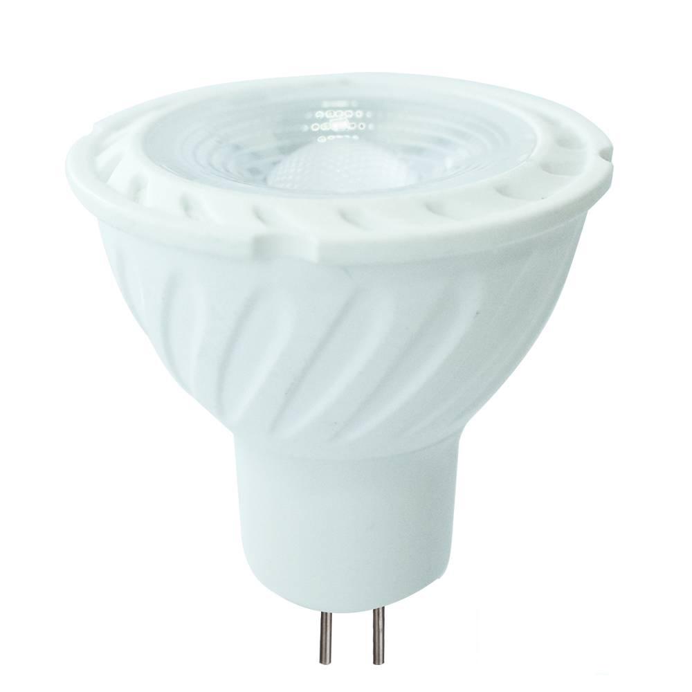MR16 LED spot 6,5 Watt 12V DC 450lm daglichtwit 6400K (vervangt 55W) 5 jaar garantie
