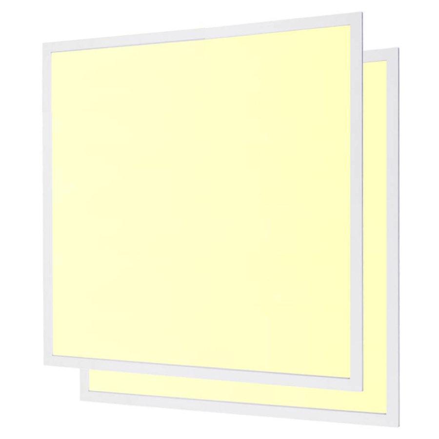 LED paneel 30x30 cm 18W 1800lm 3000K incl. trafo 5 jaar garantie 2 stuks