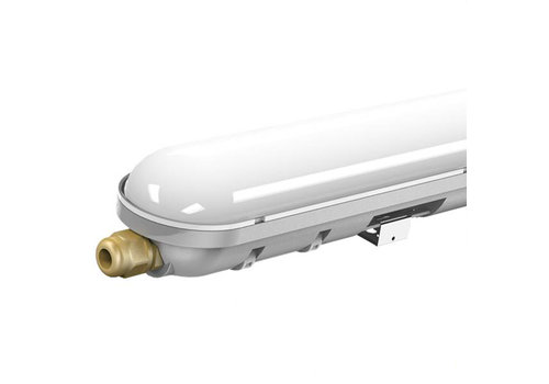 6-pack LED waterproof fixtures IP65 150 cm 48W 4000lm 6000K