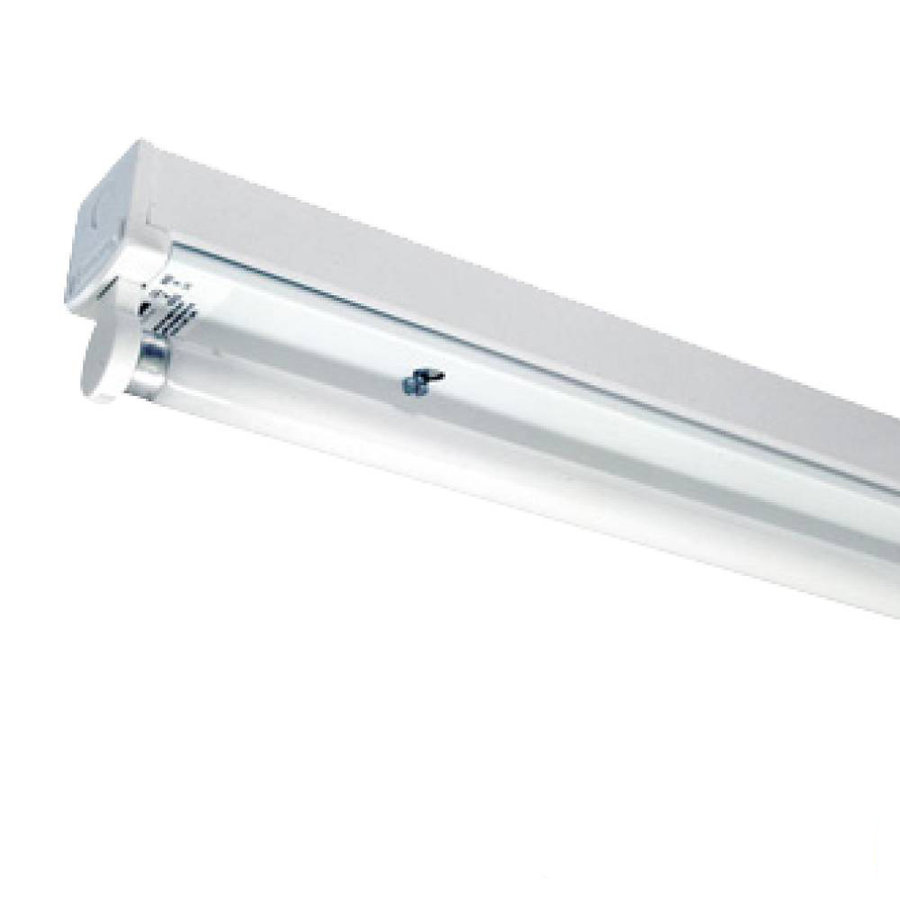 20x TL armatuur 150 cm enkelvoudig incl. 20 stuks 24W 6000K LED buizen