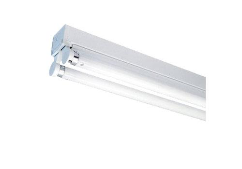 Samsung 20x LED Fixture 150 cm incl. 2x22W 6400K Samsung LED Tubes 5 year warranty