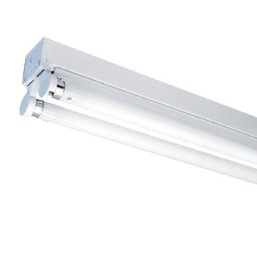 HOFTRONIC™ 20x TL armatuur 150 cm dubbelvoudig incl. 2x24W 6000K LED buizen