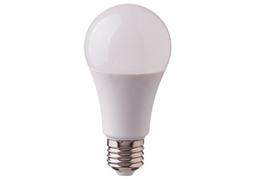V-TAC E27 LED Lamp 9 Watt 6400K Vervangt 60 Watt 3 Staps Dimbaar