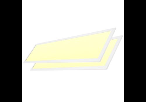 LED-Panel 30x120 cm 36W 4320lm 3000K inkl. Trafo 5 Jahre Garantie [2 Stück]