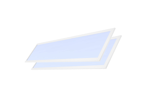 LED paneel 30x120 cm 36W 4320lm 6000K incl. trafo 5 jr garantie [2 stuks]