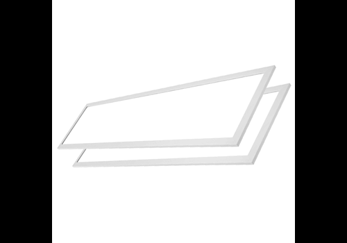 LED-Panel 30x120 36W 4320lm 4000K inkl. Trafo 5 Jahre Garantie [2 Stück]