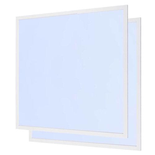 LED-Panel 62x62 cm 40W 4800lm 6000K inkl. Trafo 5 Jahre Garantie [2 Stück]