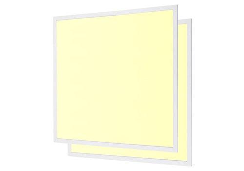LED paneel 62x62 cm 40W 4800lm 3000K incl. trafo 5 jr garantie [2 stuks]