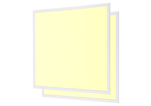 LED panel 62x62 cm 40W 4800lm 3000K incl. driver 5 years warranty [2 pieces]