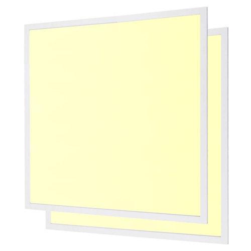 HOFTRONIC™ LED paneel 62x62 cm 40W 4800lm 3000K incl. trafo 5 jr garantie [2 stuks]
