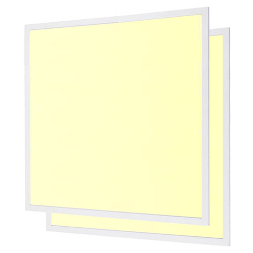 HOFTRONIC™ LED panel 62x62 cm 40W 4800lm 3000K incl. driver 5 years warranty [2 pieces]