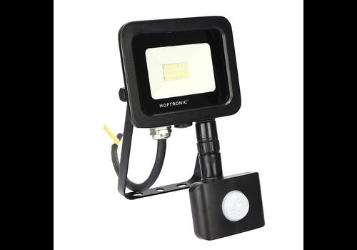 HOFTRONIC™ LED Breedstraler met bewegingssensor 10 Watt 4000K Osram IP65 vervangt 90 Watt