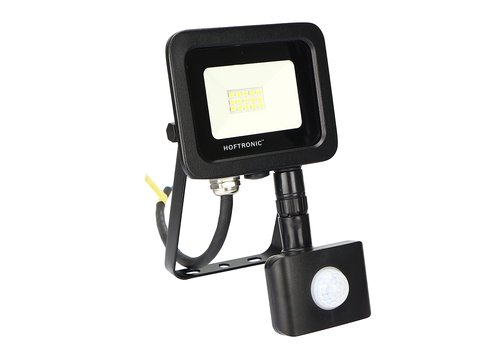 HOFTRONIC™ LED Floodlight with motion sensor 10 Watt 6400K Osram IP65 replaces 90 Watt