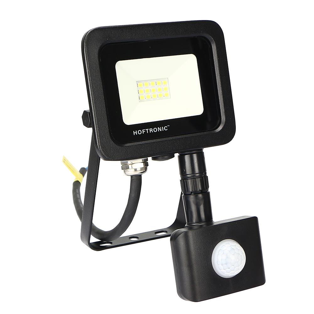 LED Breedstraler met bewegingssensor 10 Watt 6400K Osram IP65 vervangt 90 Watt