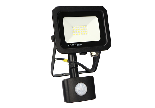 HOFTRONIC™ LED Floodlight with motion sensor 20 Watt 4000K Osram IP65 replaces 180 Watt