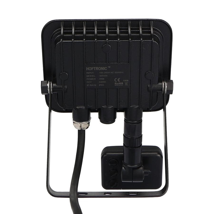 LED Breedstraler met bewegingssensor 20 Watt 6400K Osram IP65 vervangt 180 Watt