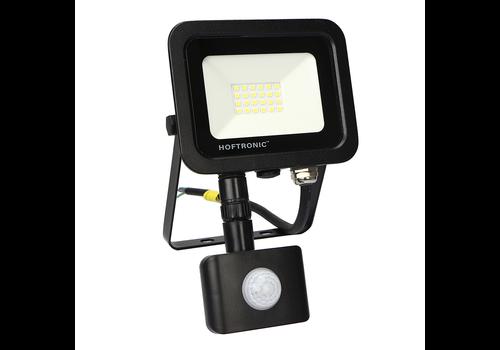 HOFTRONIC™ LED Breedstraler met bewegingssensor 20 Watt 6400K Osram IP65 vervangt 180 Watt