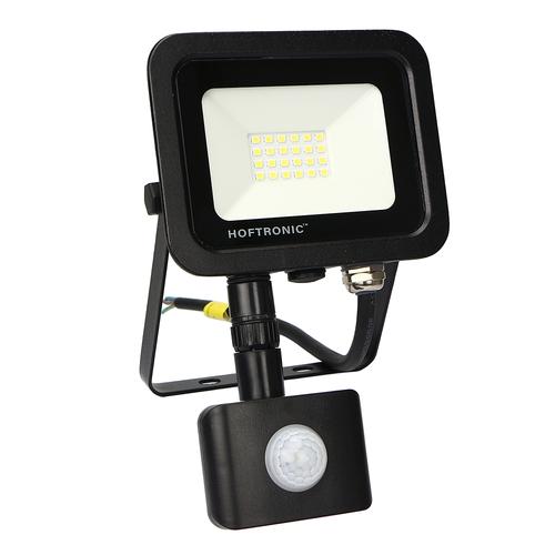 HOFTRONIC™ LED-Fluter mit Bewegungssensor 20 Watt 6400K Osram IP65 ersetzt 180 Watt