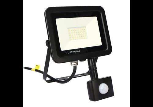 HOFTRONIC™ LED Floodlight with motion sensor 30 Watt 6400K Osram IP65 replaces 270 Watt