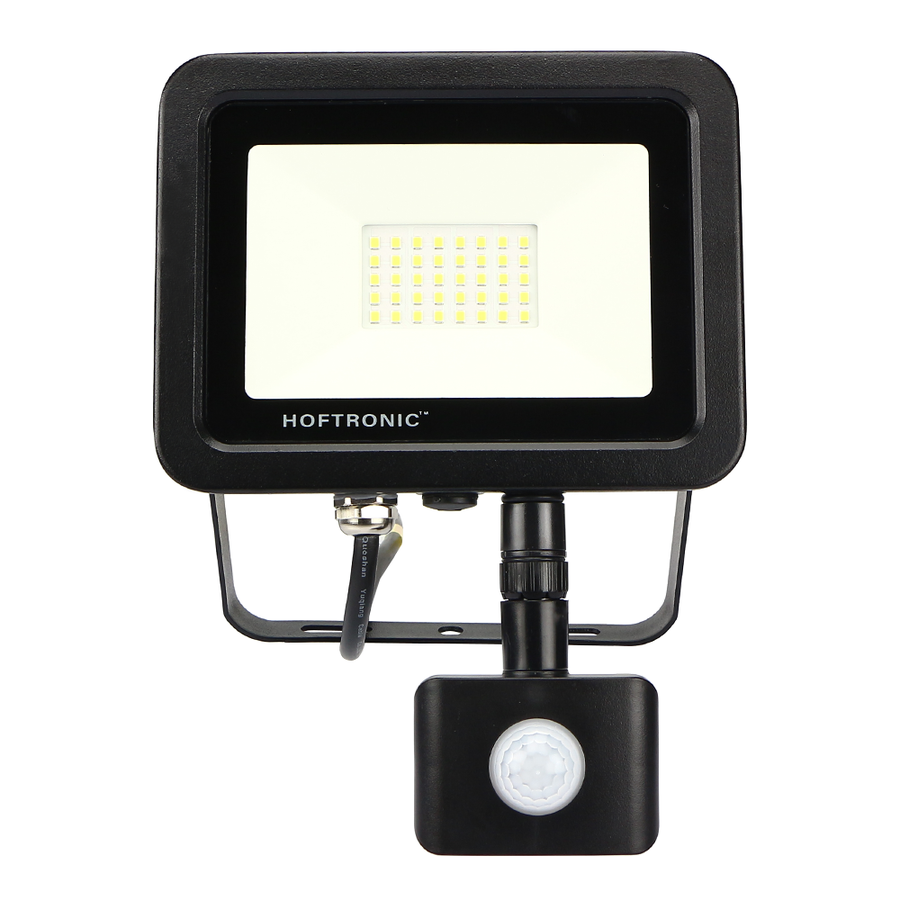 LED-Fluter mit Bewegungssensor 30 Watt 6400K Osram IP65 ersetzt 270 Watt