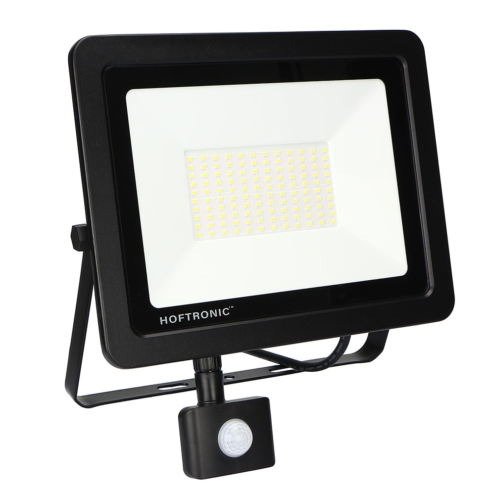 LED Breedstraler met bewegingssensor 100 Watt 4000K Osram IP65 vervangt 1000 Watt