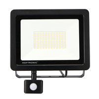 LED Floodlight with motion sensor 100 Watt 4000K Osram IP65 replaces 1000 Watt
