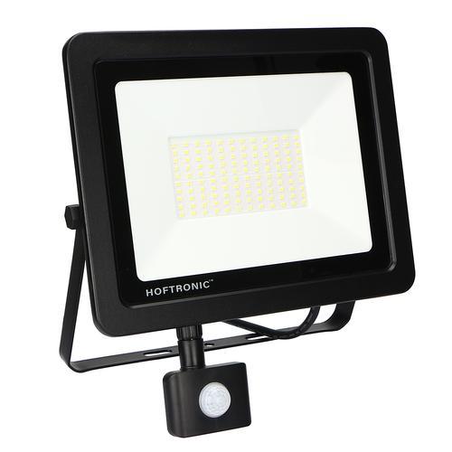 HOFTRONIC™ LED Breedstraler met bewegingssensor 100 Watt 6400K Osram IP65 vervangt 1000 Watt