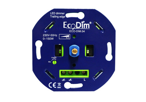 Ecodim LED dimmer 0-150 Watt trailing Edge (max. 8 led lamps)