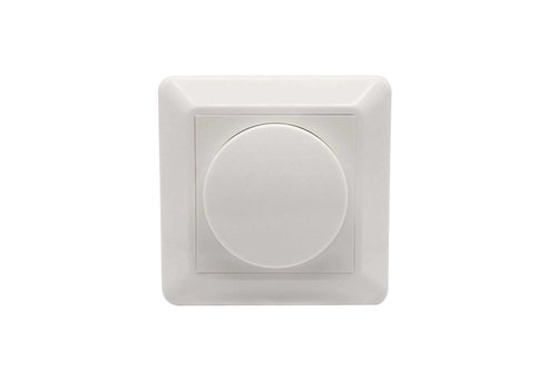 Ecodim Dimmer button incl. Central plate and frame (for ECO-DIM.04 and art. 478473)