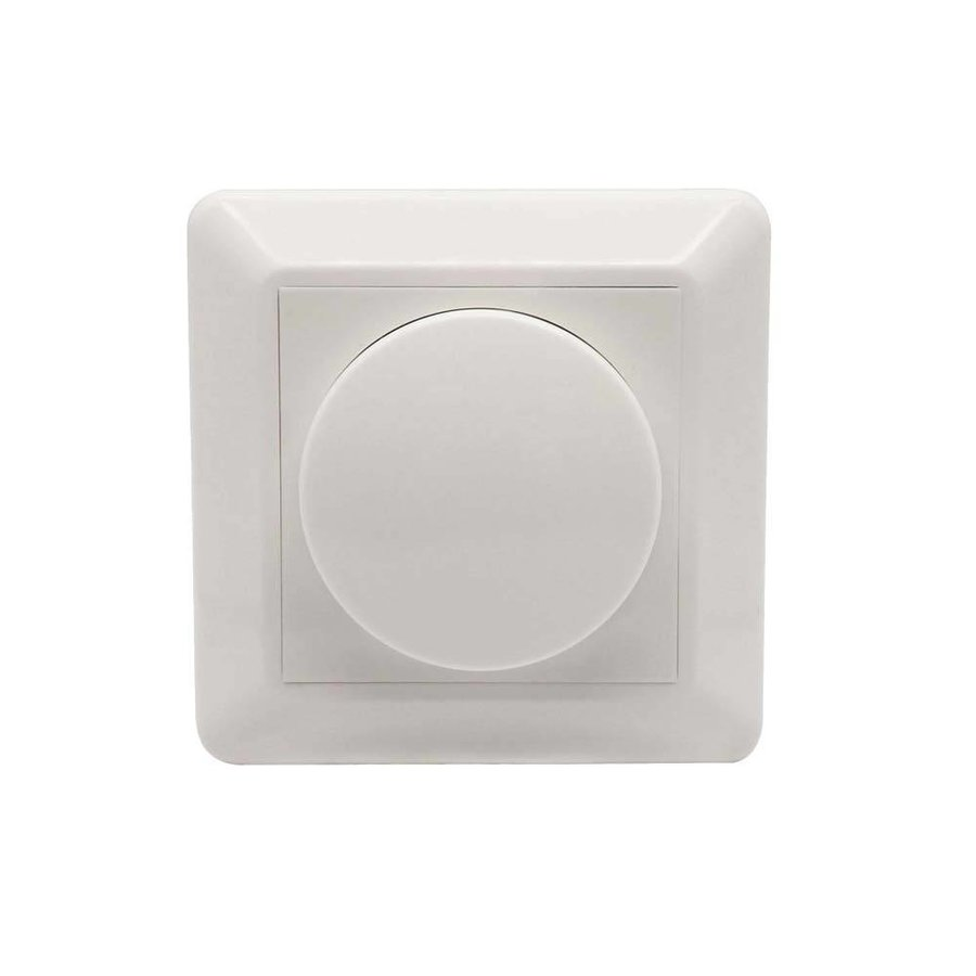 Dimmer button incl. Central plate and frame (for ECO-DIM.04)