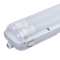 10-pack LED TL armaturen 150 cm IP65 incl. 2x24W LED buizen 6000K