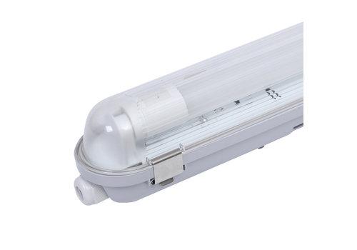HOFTRONIC™ 25-pack LED waterproof fixtures IP65 120 cm incl. 18 Watt Samsung High Lumen LED tube 3000K 2250lm