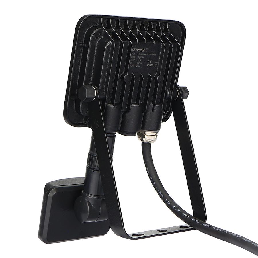 LED-Fluter mit Dämmerungsschalter 10 Watt 6400K Osram IP65 ersetzt 90 Watt