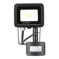 LED Floodlight with twilight switch 10 Watt 6400K Osram IP65 replaces 90 Watt