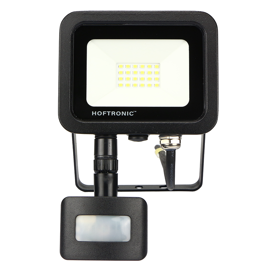 LED Floodlight with twilight switch 20 Watt 4000K Osram IP65 replaces 180 Watt