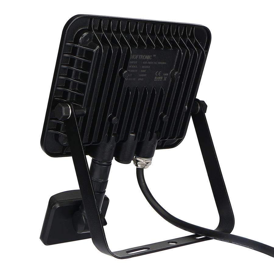 LED Floodlight with twilight switch 30 Watt 4000K Osram IP65 replaces 270 Watt