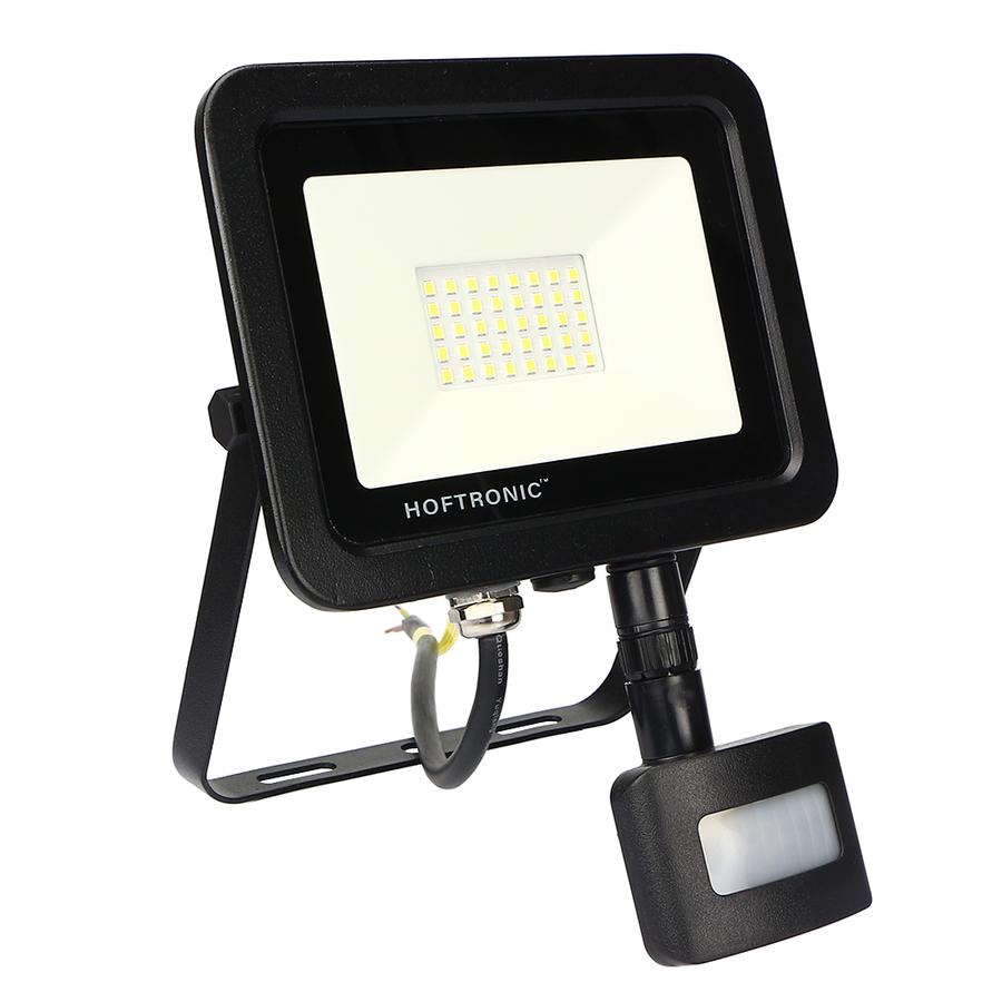 LED Breedstraler met schemerschakelaar 30 Watt 6400K Osram IP65 vervangt 270 Watt