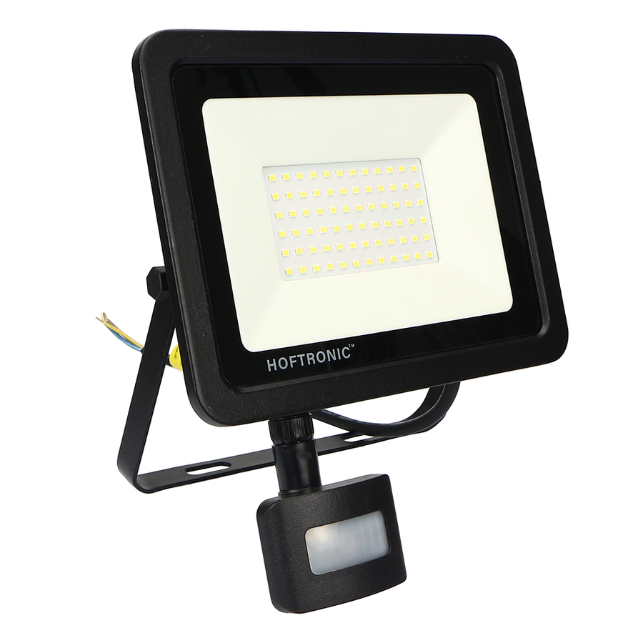 LED Breedstraler met schemerschakelaar 50 Watt 6400K Osram IP65 vervangt 450 Watt