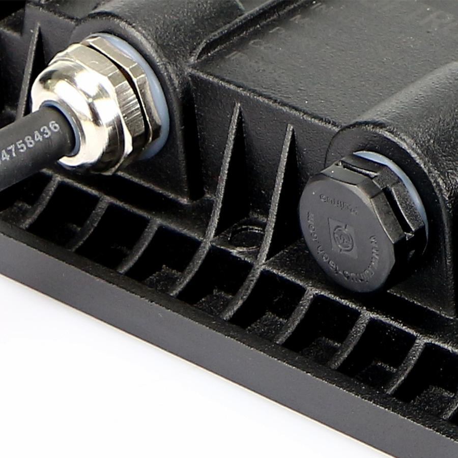 LED Breedstraler met schemerschakelaar 100 Watt 4000K Osram IP65 vervangt 1000 Watt